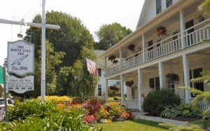 The beautiful accommodations of the White Gull Inn are walking distance to everything in the heart of charming Fish Creek.